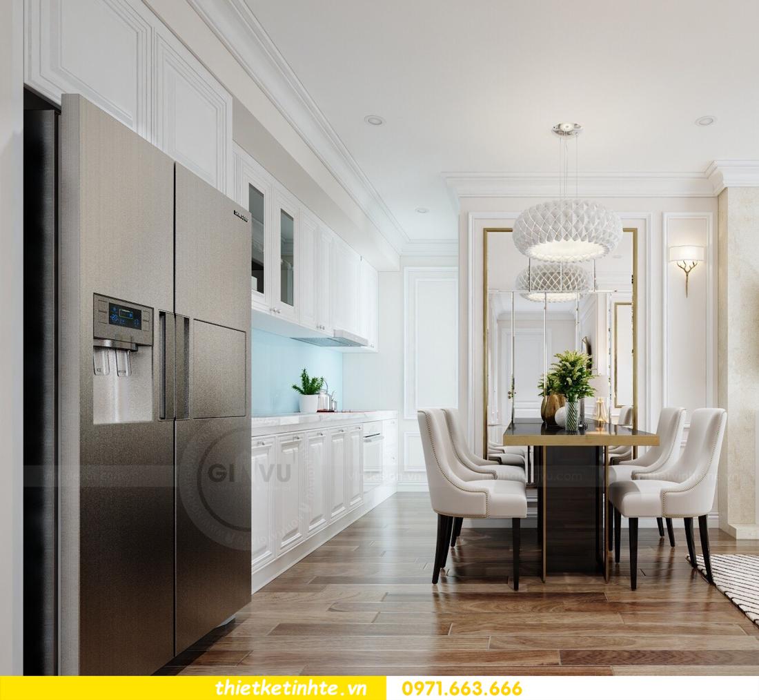 thiết kế nội thất chung cư cao cấp D Capitale tòa C1-02 nhà chị Hiên 05