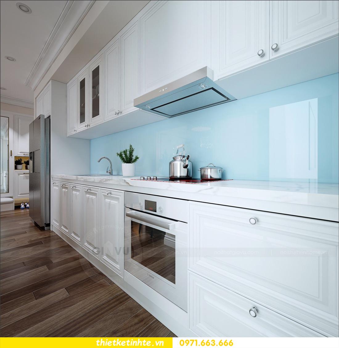 thiết kế nội thất chung cư cao cấp D Capitale tòa C1-02 nhà chị Hiên 06