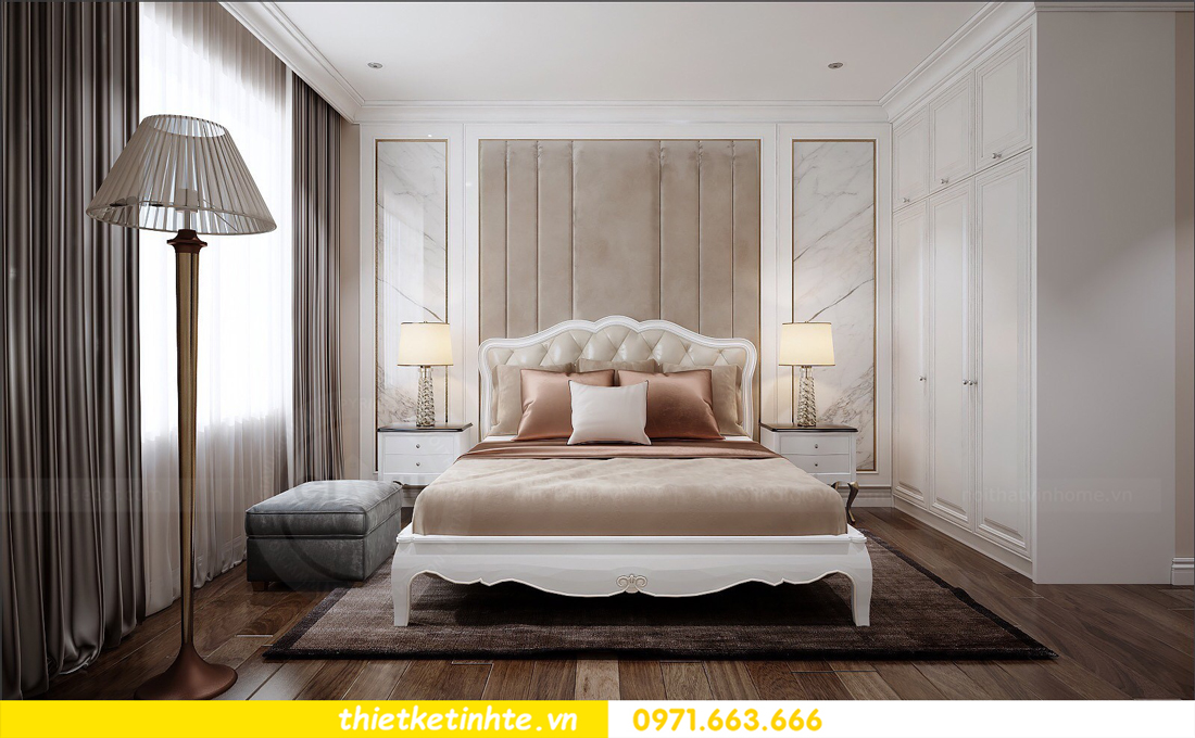 thiết kế nội thất chung cư cao cấp D Capitale tòa C1-02 nhà chị Hiên 07