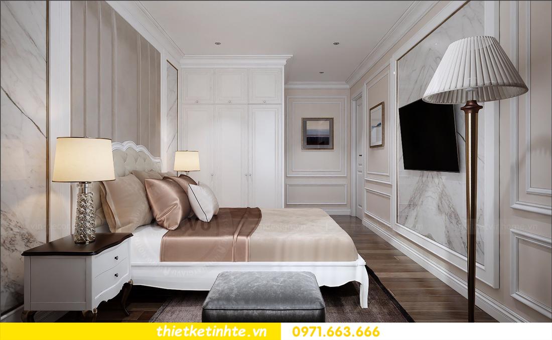 thiết kế nội thất chung cư cao cấp D Capitale tòa C1-02 nhà chị Hiên 09