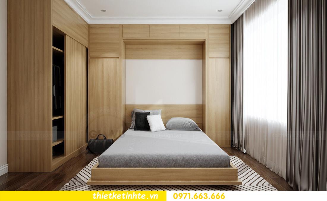 thiết kế nội thất chung cư cao cấp D Capitale tòa C1-02 nhà chị Hiên 10