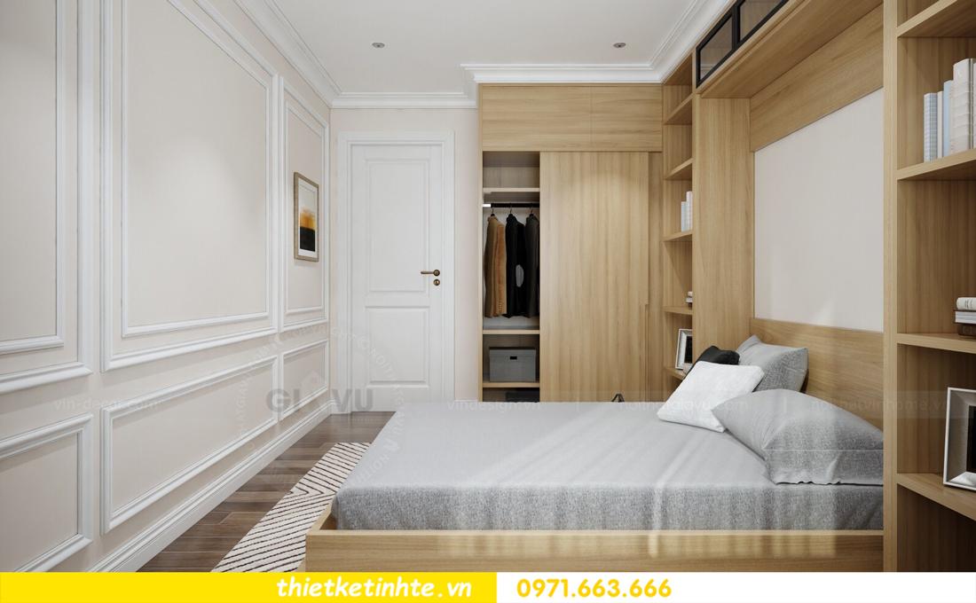 thiết kế nội thất chung cư cao cấp D Capitale tòa C1-02 nhà chị Hiên 11