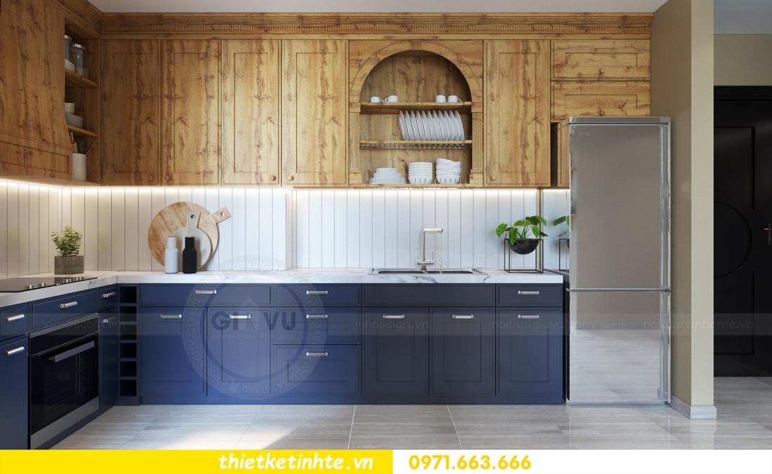 thiết kế nội thất chung cư theo phong cách Vintage nhà anh Tín 03