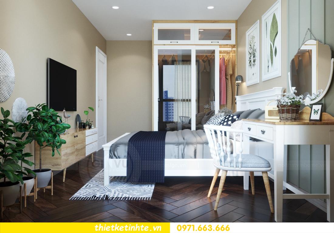 thiết kế nội thất chung cư theo phong cách Vintage nhà anh Tín 06