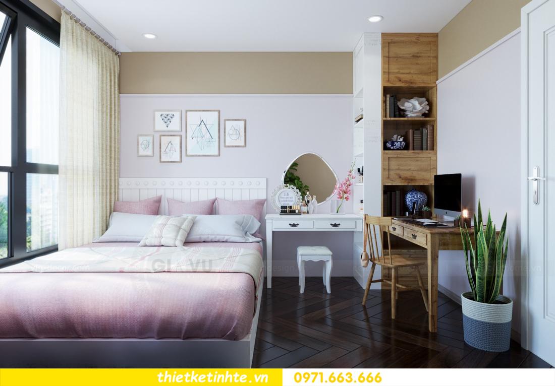 thiết kế nội thất chung cư theo phong cách Vintage nhà anh Tín 08