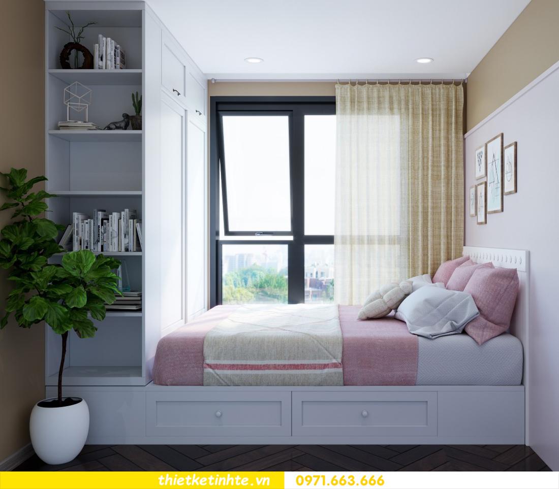 thiết kế nội thất chung cư theo phong cách Vintage nhà anh Tín 09