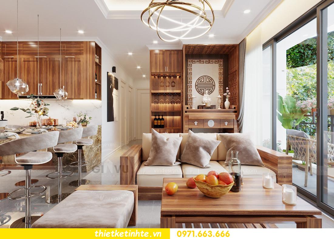 thiết kế nội thất DCapitale tòa C7 căn 09 GD chị Dương 04