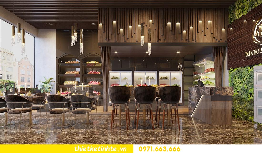 thiết kế nội thất Shophouse Green Bay nhà chị Yến 02