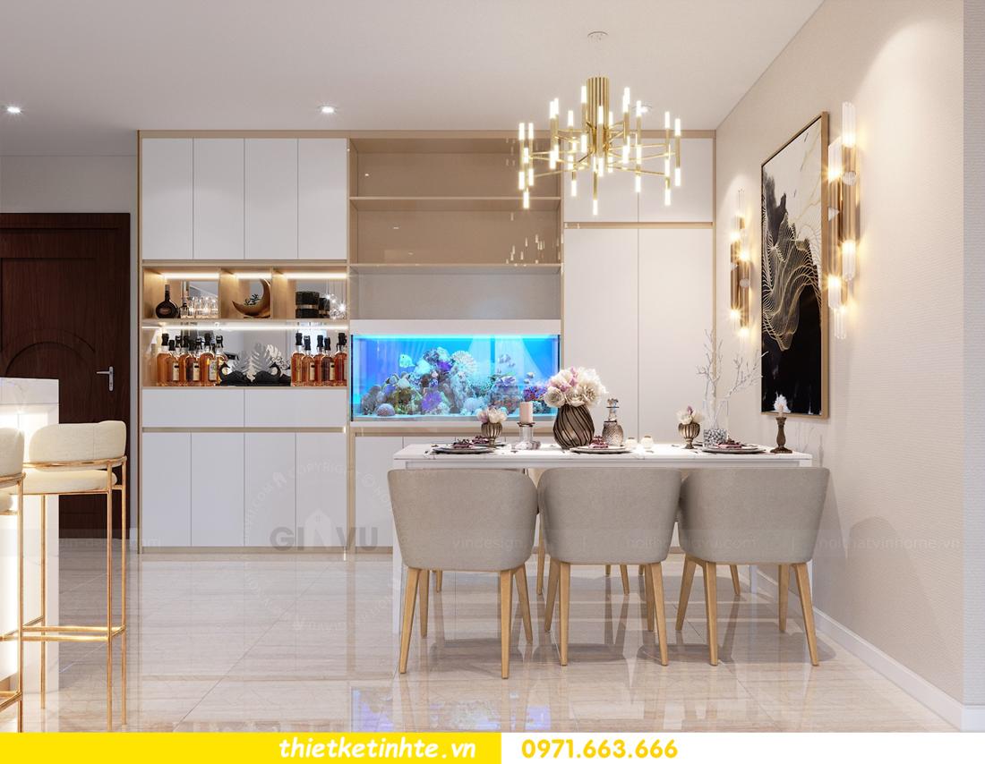 thiết kế nội thất tòa C1 căn hộ 08 Vinhomes D Capitale anh Hoài 1