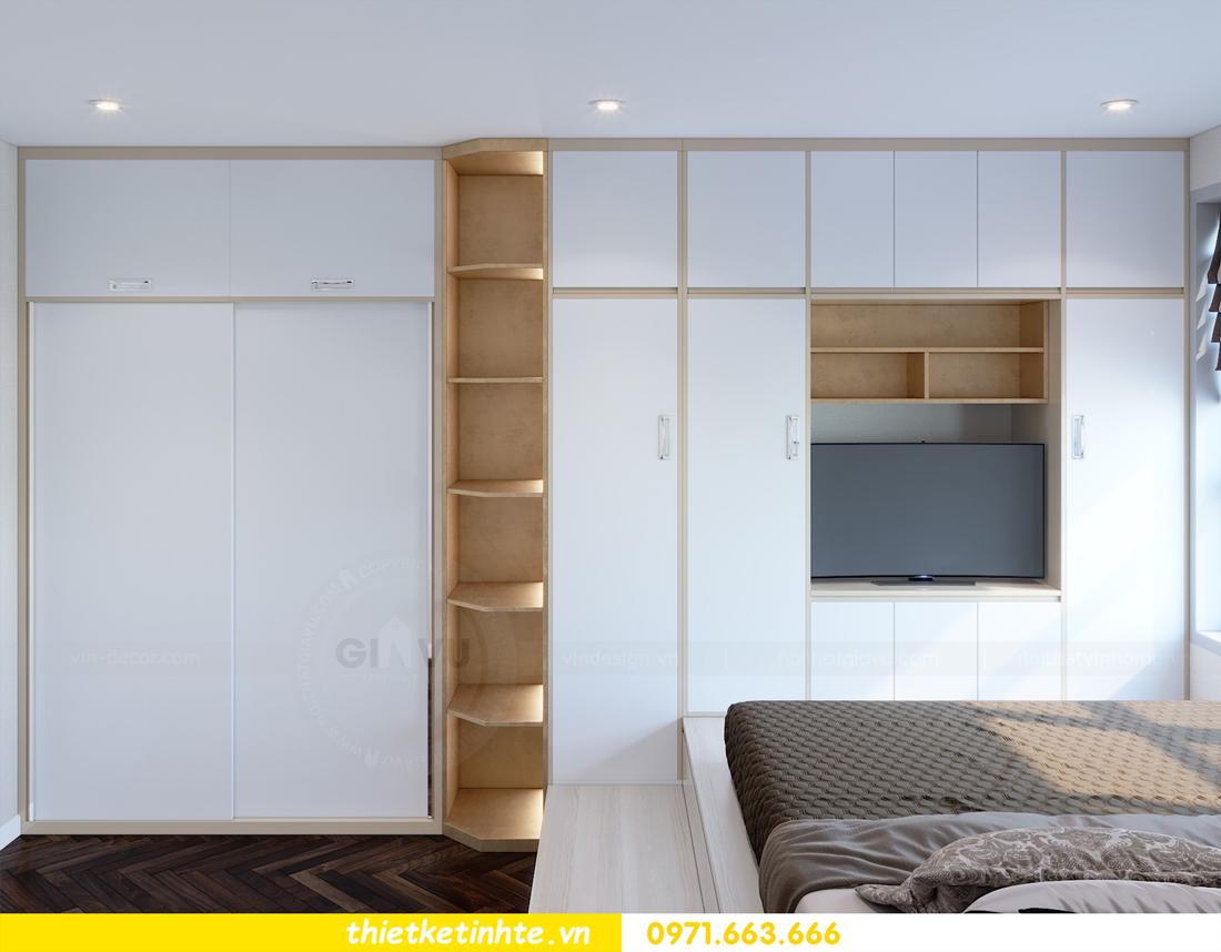 thiết kế nội thất tòa C1 căn hộ 08 Vinhomes D Capitale anh Hoài 10