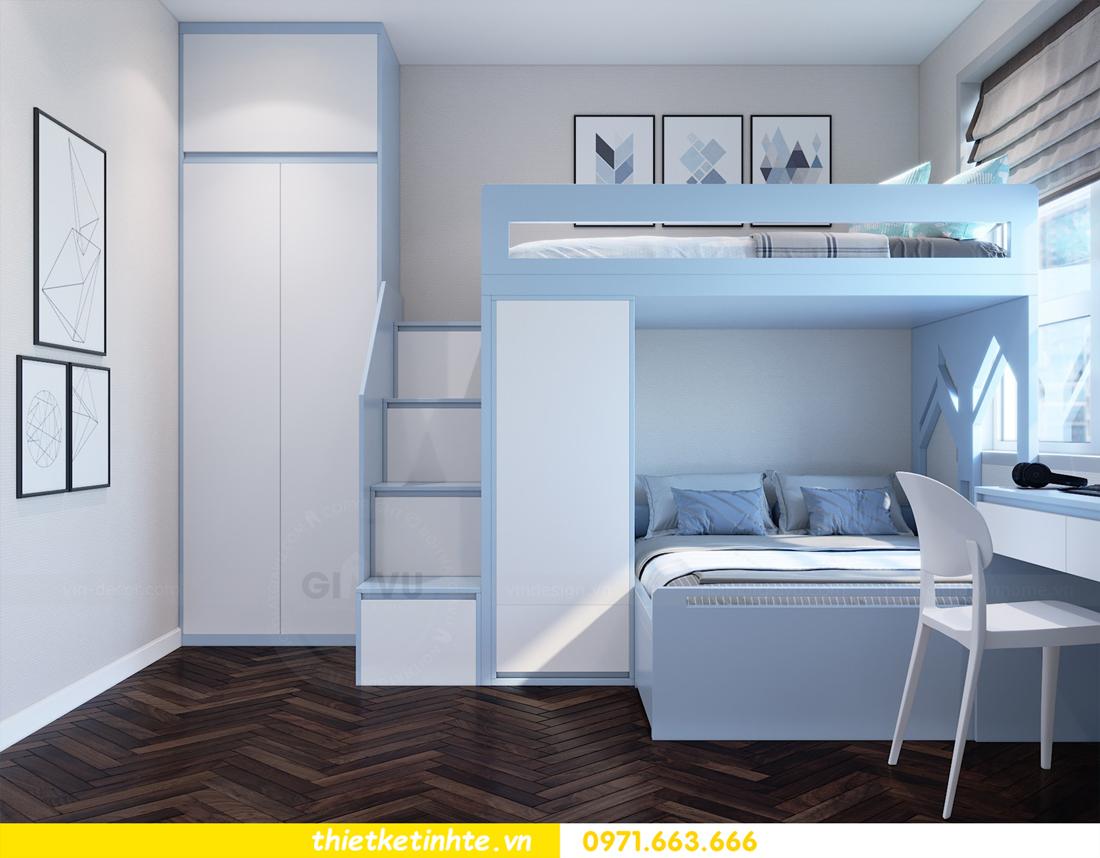 thiết kế nội thất tòa C1 căn hộ 08 Vinhomes D Capitale anh Hoài 12