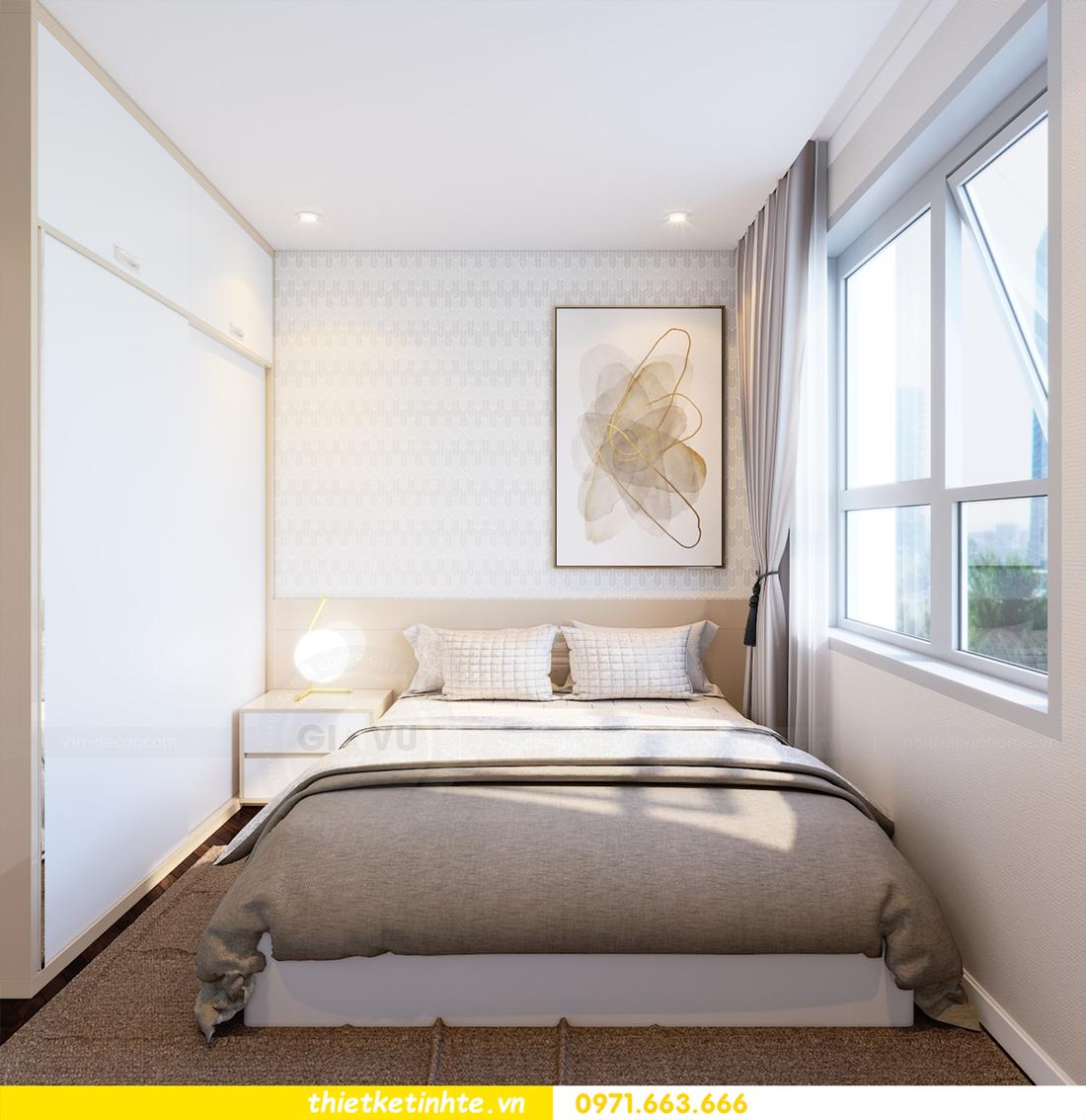thiết kế nội thất tòa C1 căn hộ 08 Vinhomes D Capitale anh Hoài 13