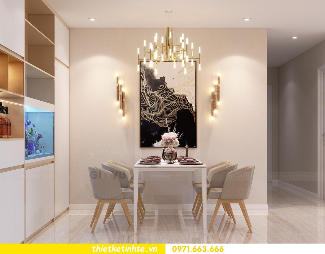 thiết kế nội thất tòa C1 căn hộ 08 Vinhomes D Capitale anh Hoài 2