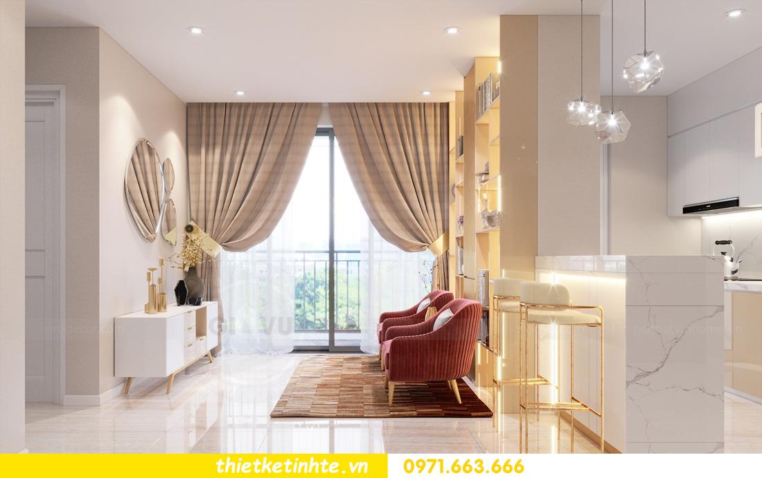 thiết kế nội thất tòa C1 căn hộ 08 Vinhomes D Capitale anh Hoài 5