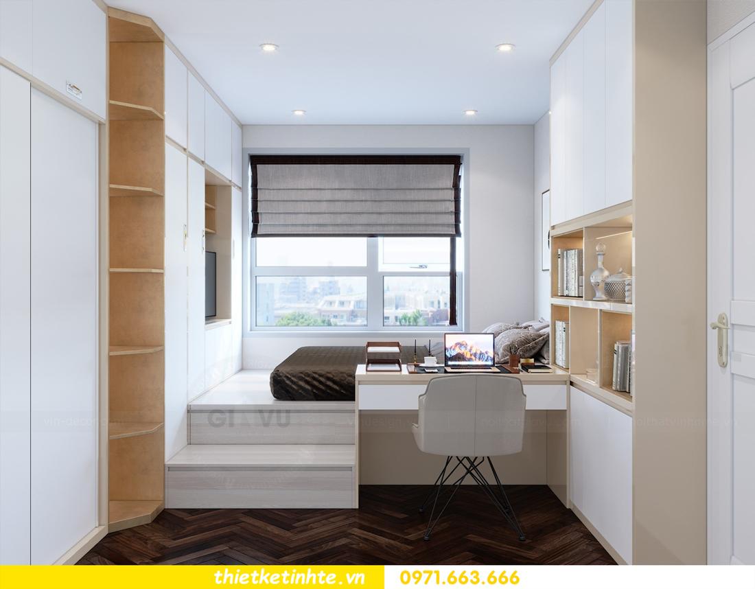 thiết kế nội thất tòa C1 căn hộ 08 Vinhomes D Capitale anh Hoài 8