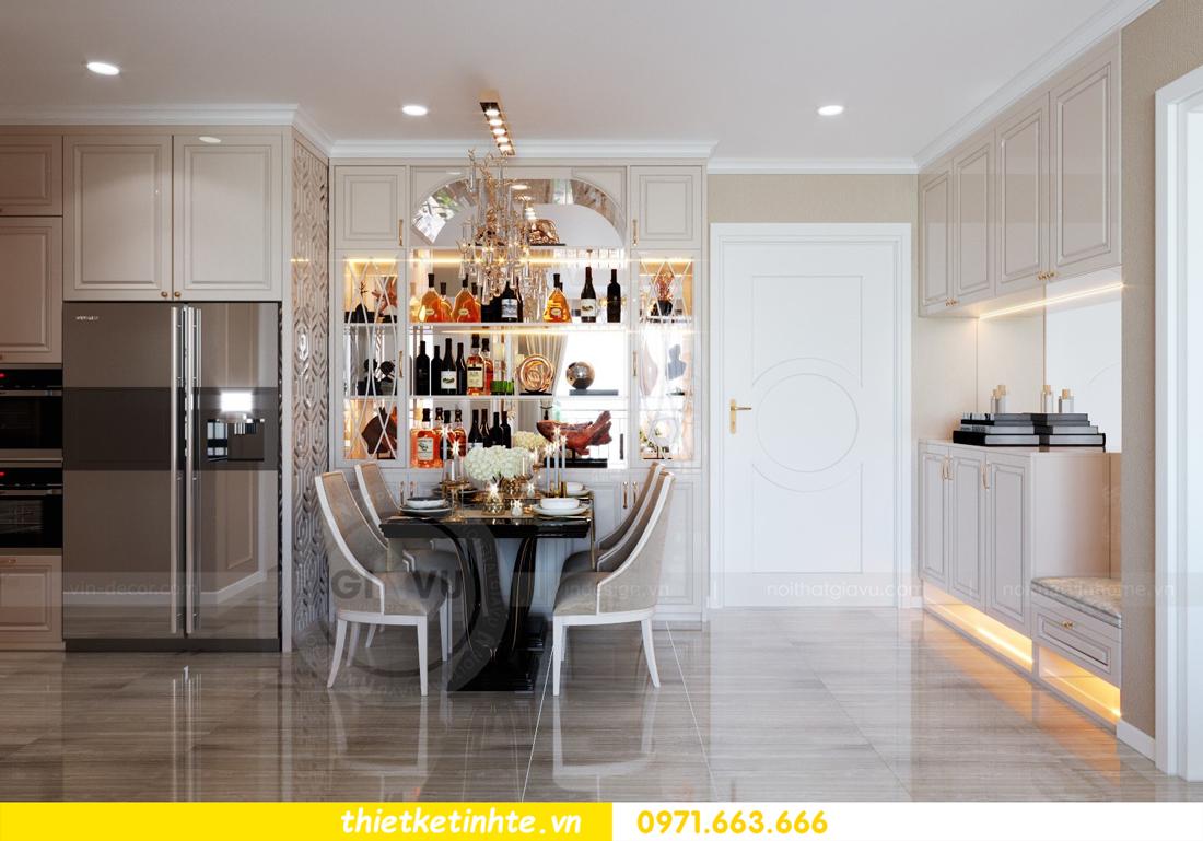 thiết kế nội thất Vinhomes DCapitale tòa C6 căn 10 nhà anh Vinh 01
