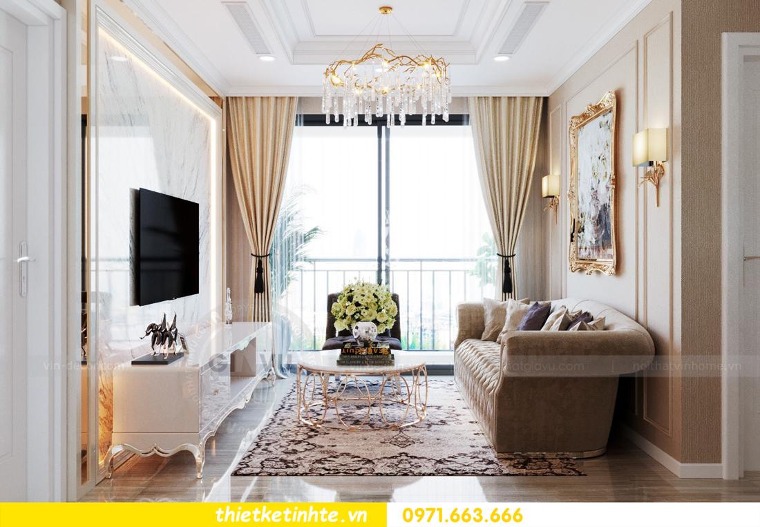 thiết kế nội thất Vinhomes DCapitale tòa C6 căn 10 nhà anh Vinh 04