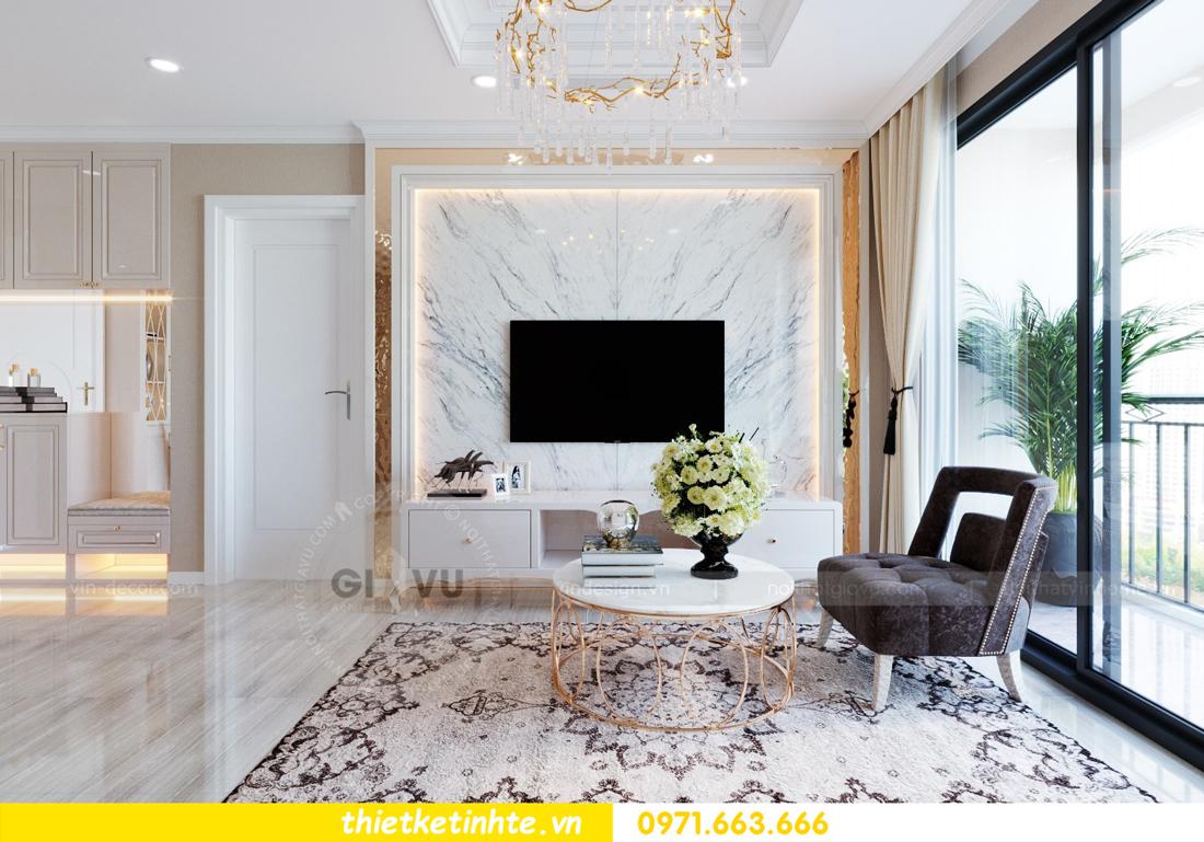 thiết kế nội thất Vinhomes DCapitale tòa C6 căn 10 nhà anh Vinh 06
