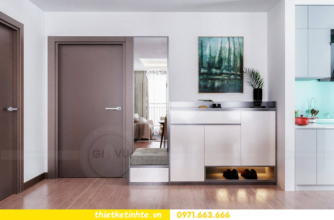 Thiết kế nội thất Vinhomes Skylake tòa S3 căn 14 nhà chị Hằng 01