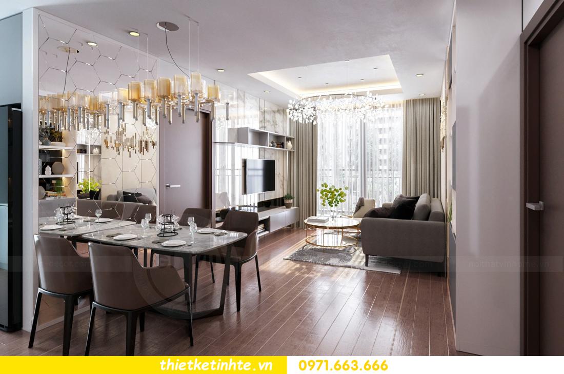 Thiết kế nội thất Vinhomes Skylake tòa S3 căn 14 nhà chị Hằng 02