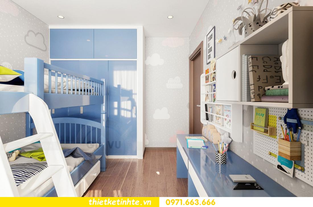Thiết kế nội thất Vinhomes Skylake tòa S3 căn 14 nhà chị Hằng 07