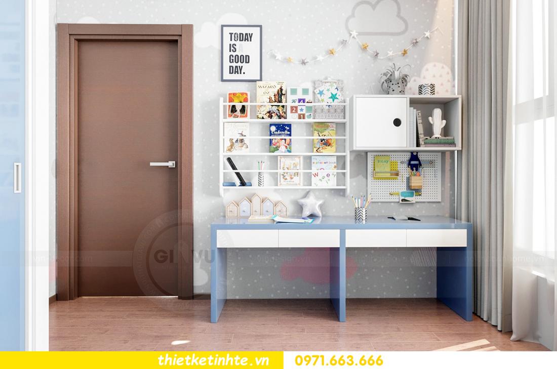 Thiết kế nội thất Vinhomes Skylake tòa S3 căn 14 nhà chị Hằng 09