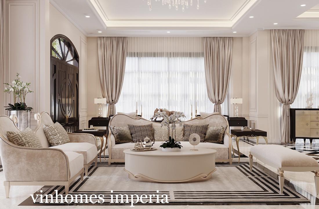 Thiết kế nội thất biệt thự Vinhomes Imperia Hải Phòng – Chị Thu