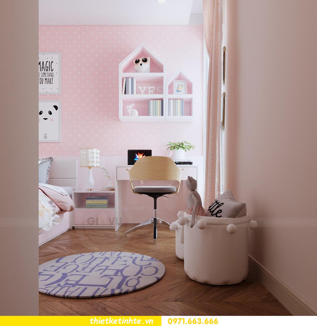 mẫu thiết kế nội thất chung cư 2 phòng ngủ nhỏ đẹp hiện đại 10