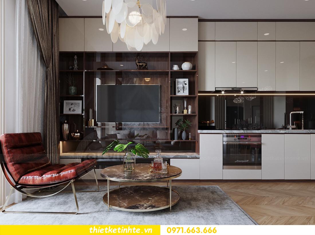 mẫu thiết kế nội thất chung cư 2 phòng ngủ nhỏ đẹp hiện đại 4