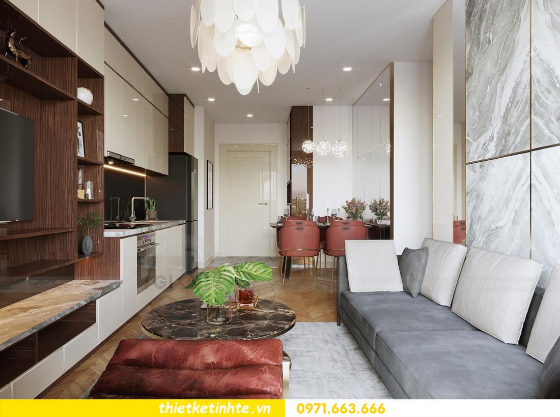 mẫu thiết kế nội thất chung cư 2 phòng ngủ nhỏ đẹp hiện đại 5