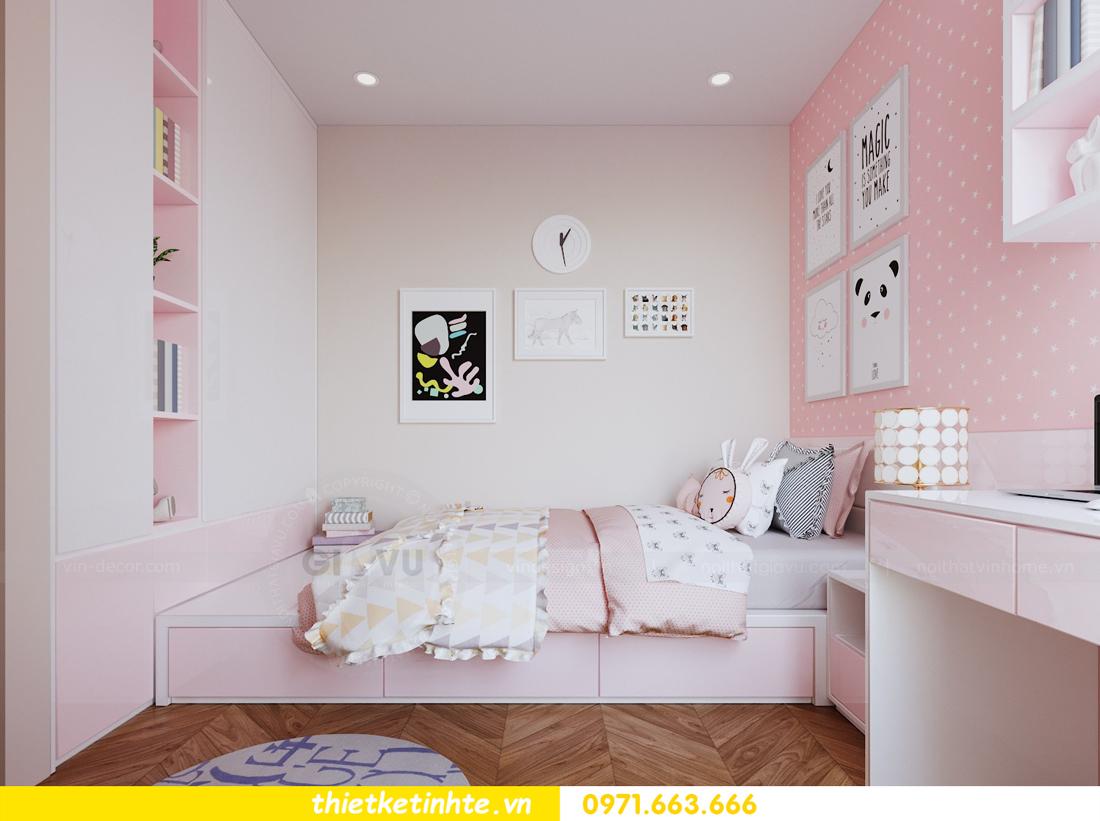 mẫu thiết kế nội thất chung cư 2 phòng ngủ nhỏ đẹp hiện đại 9
