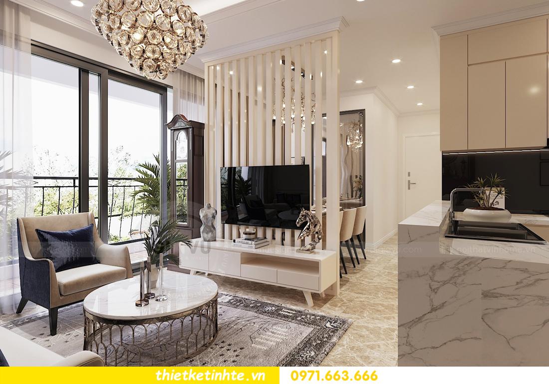 mẫu thiết kế nội thất chung cư cao cấp đẹp tại Vinhomes D Capitale 02
