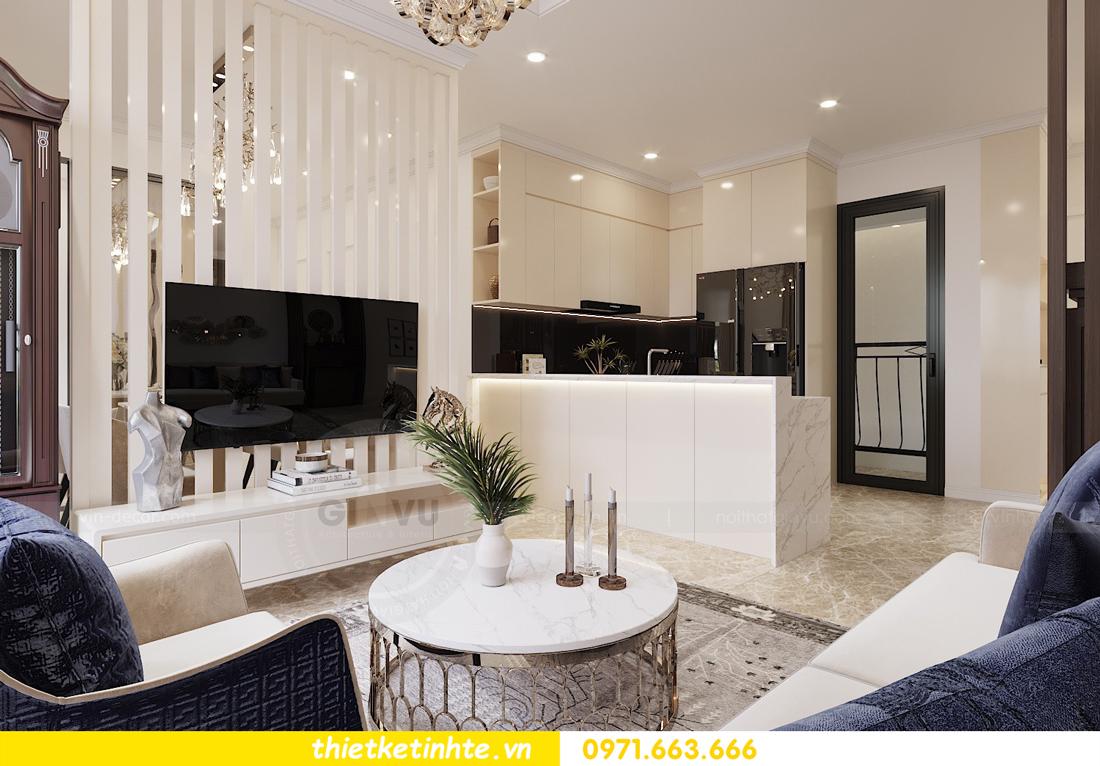 mẫu thiết kế nội thất chung cư cao cấp đẹp tại Vinhomes D Capitale 04