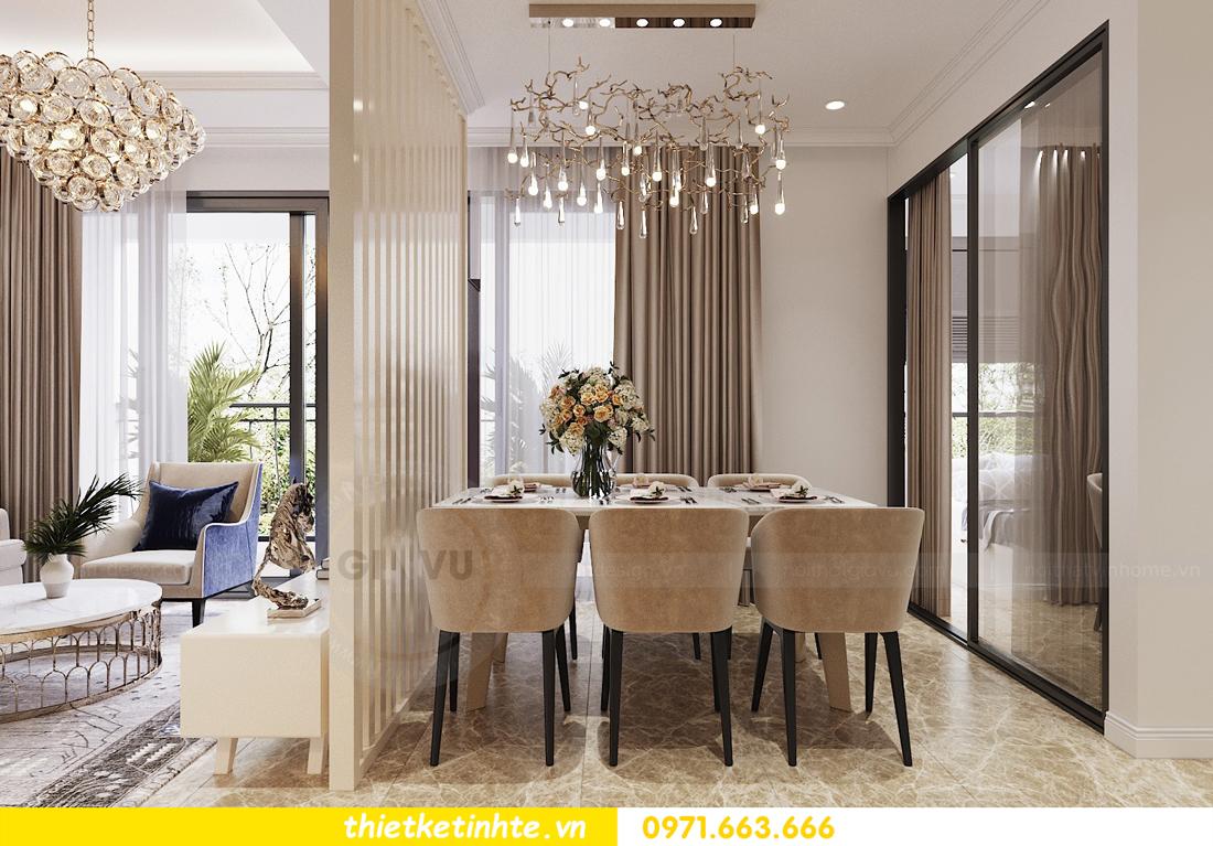 mẫu thiết kế nội thất chung cư cao cấp đẹp tại Vinhomes D Capitale 05