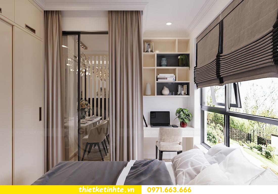 mẫu thiết kế nội thất chung cư cao cấp đẹp tại Vinhomes D Capitale 10