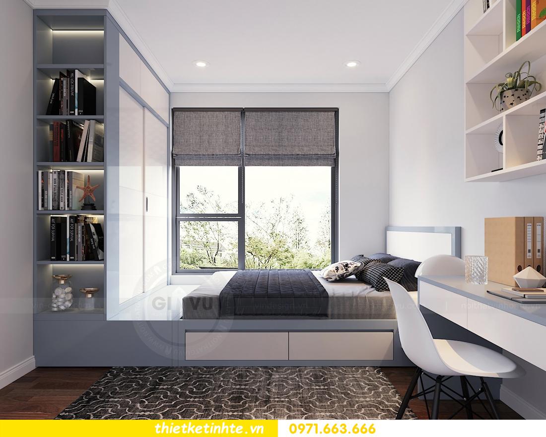 mẫu thiết kế nội thất chung cư cao cấp đẹp tại Vinhomes D Capitale 11