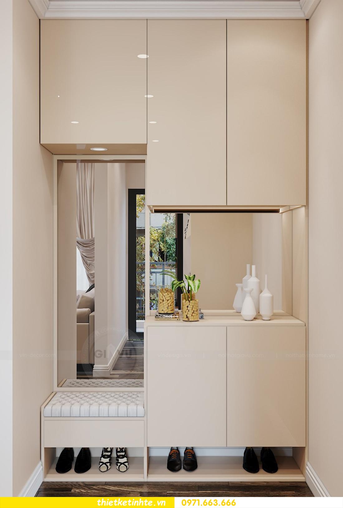 mẫu thiết kế nội thất chung cư D Capitale C109 nhà chị Huyền 01