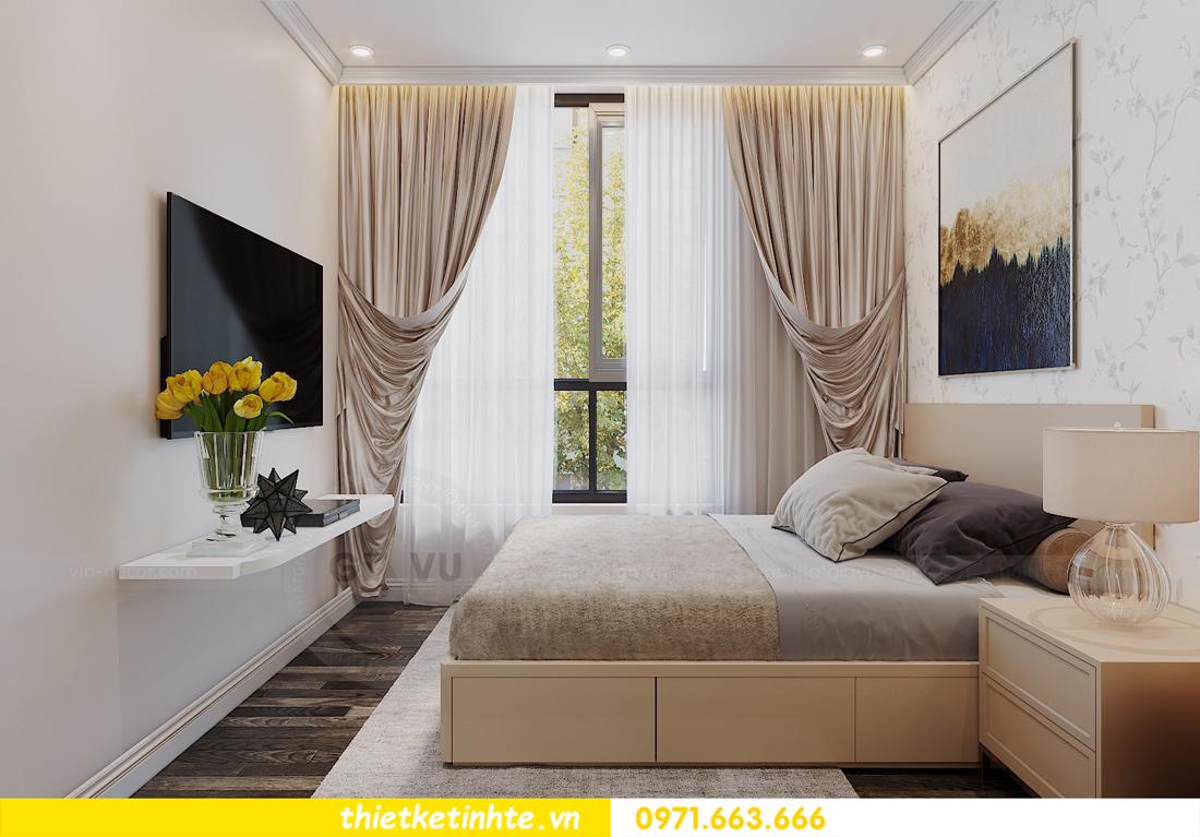 mẫu thiết kế nội thất chung cư D Capitale C109 nhà chị Huyền 10