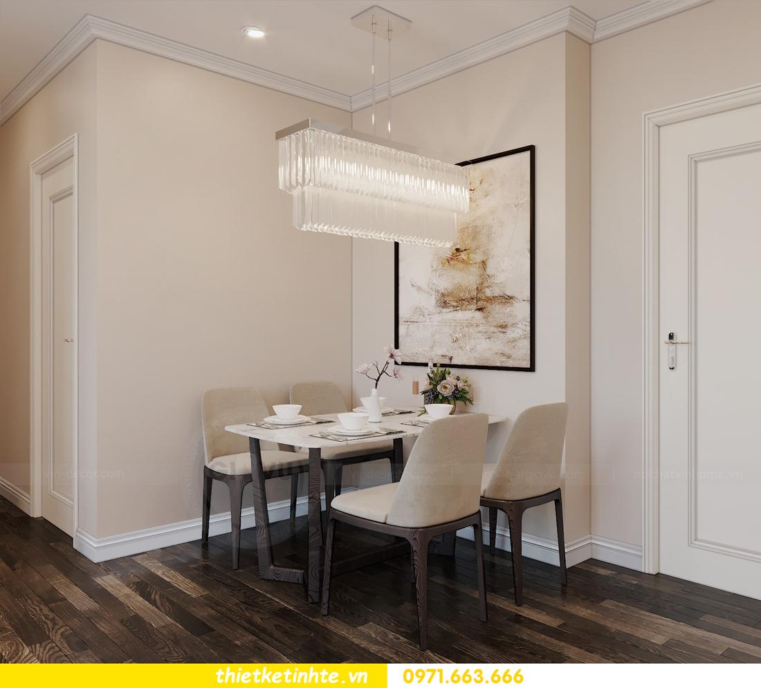 mẫu thiết kế nội thất chung cư D Capitale C109 nhà chị Huyền 02