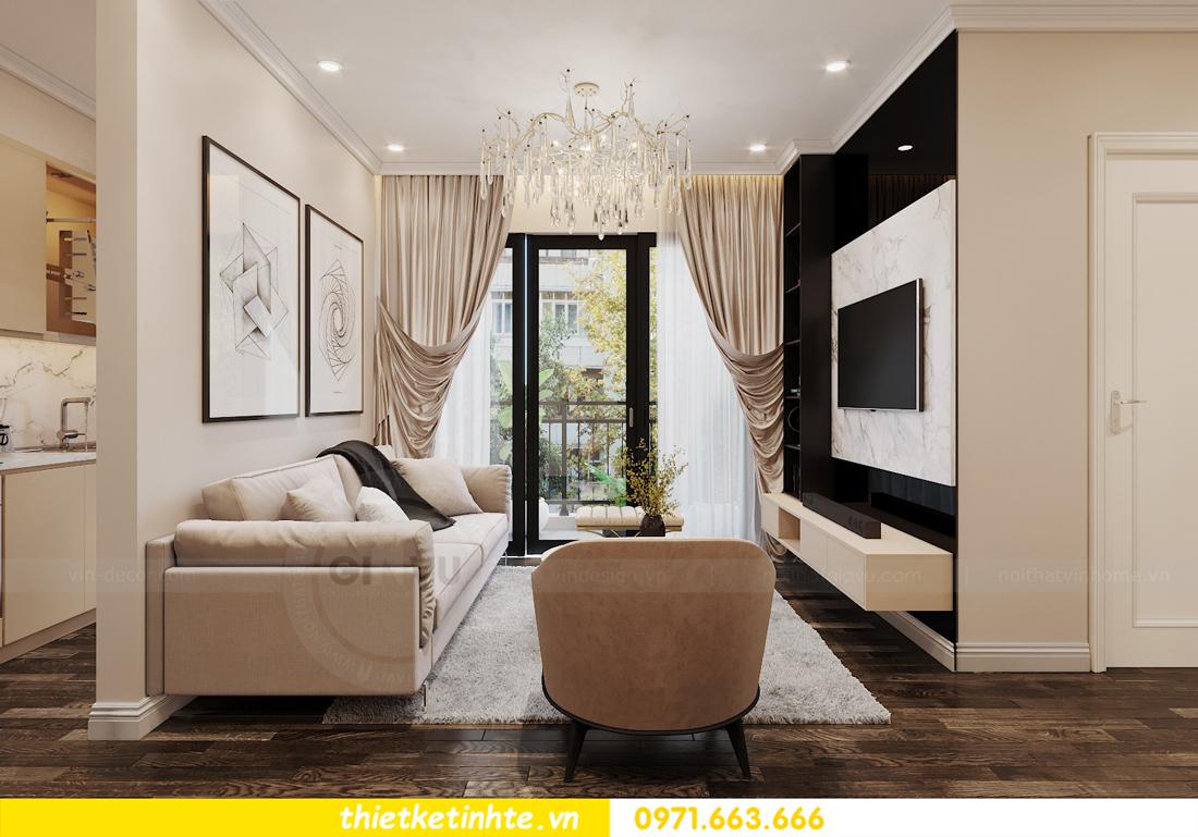 mẫu thiết kế nội thất chung cư D Capitale C109 nhà chị Huyền 03