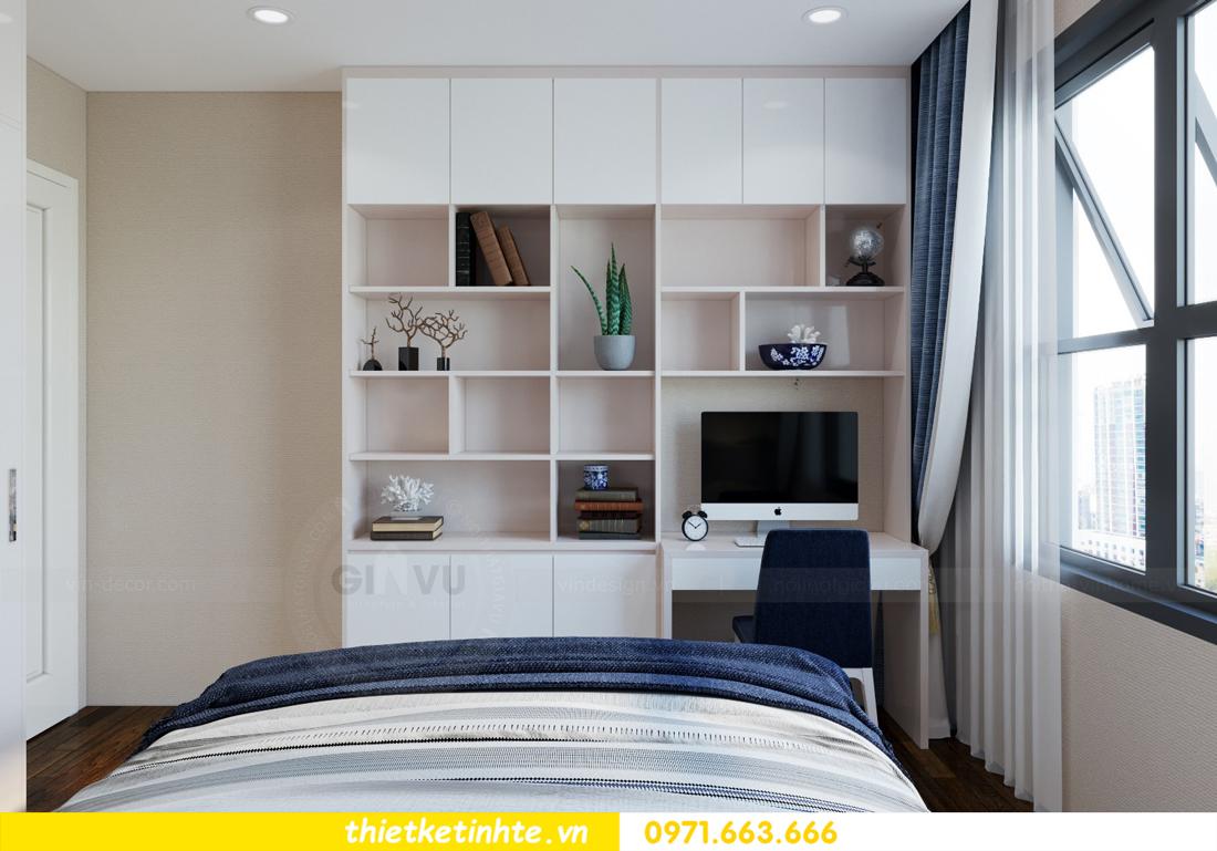 nội thất chung cư cao cấp Vinhomes D Capitale căn C312 chị Hà 10