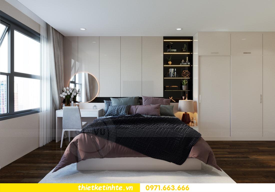 nội thất chung cư cao cấp Vinhomes D Capitale căn C312 chị Hà 5