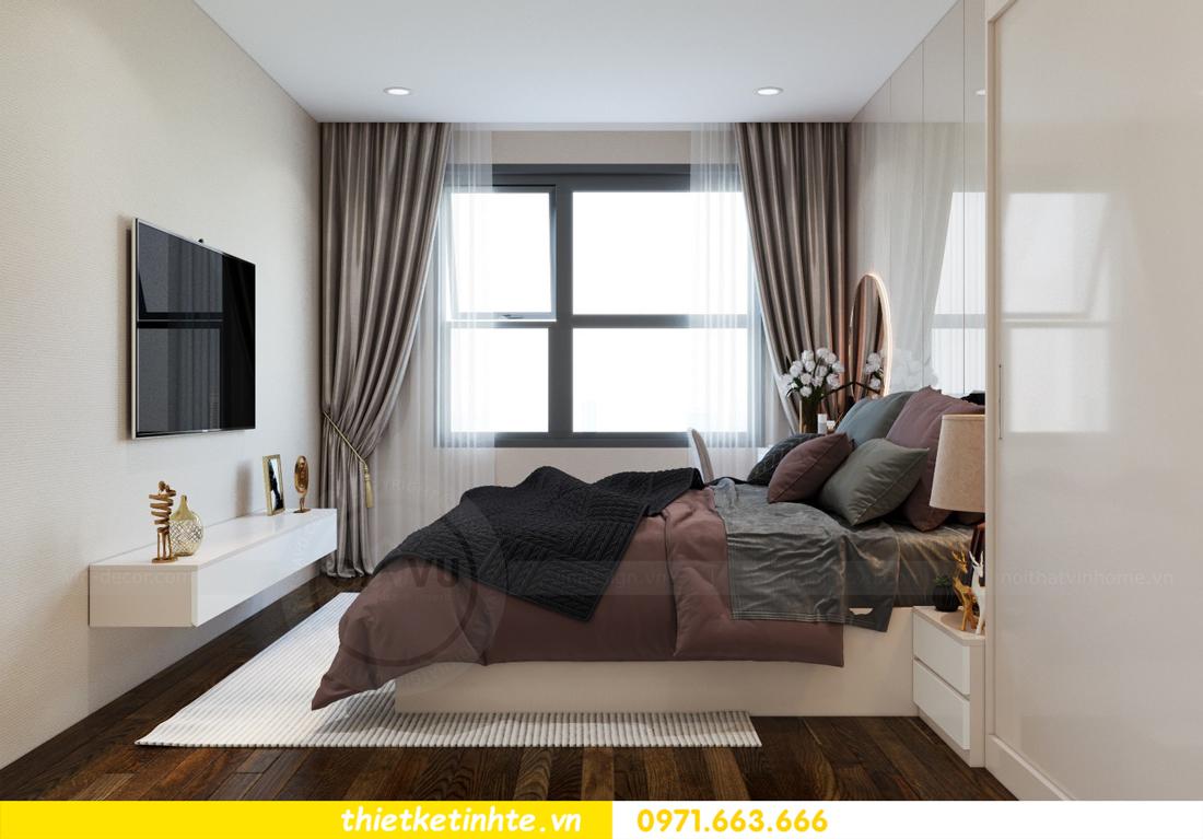 nội thất chung cư cao cấp Vinhomes D Capitale căn C312 chị Hà 6