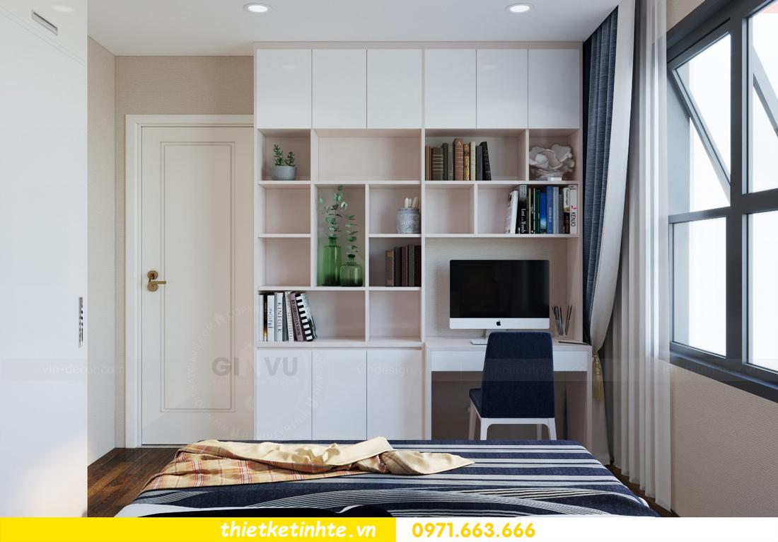 nội thất chung cư cao cấp Vinhomes D Capitale căn C312 chị Hà 8