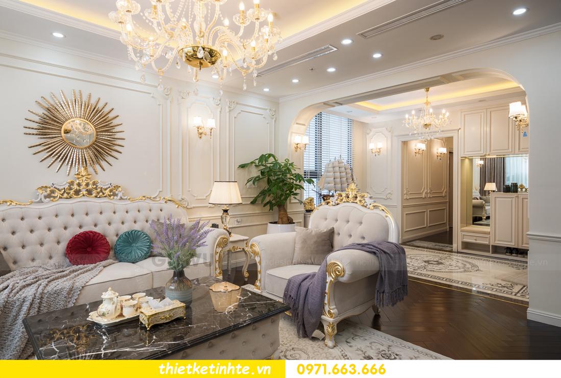 thi công hoàn thiện nội thất chung cư cao cấp Vinhomes Green Bay 03