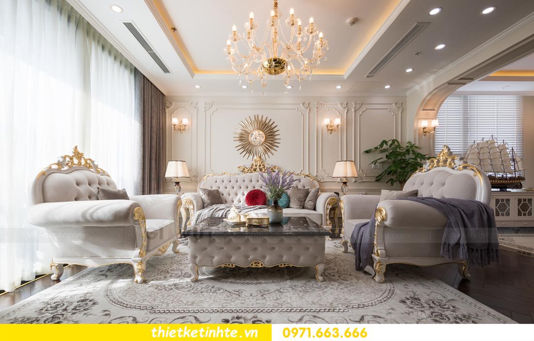 thi công hoàn thiện nội thất chung cư cao cấp Vinhomes Green Bay 05