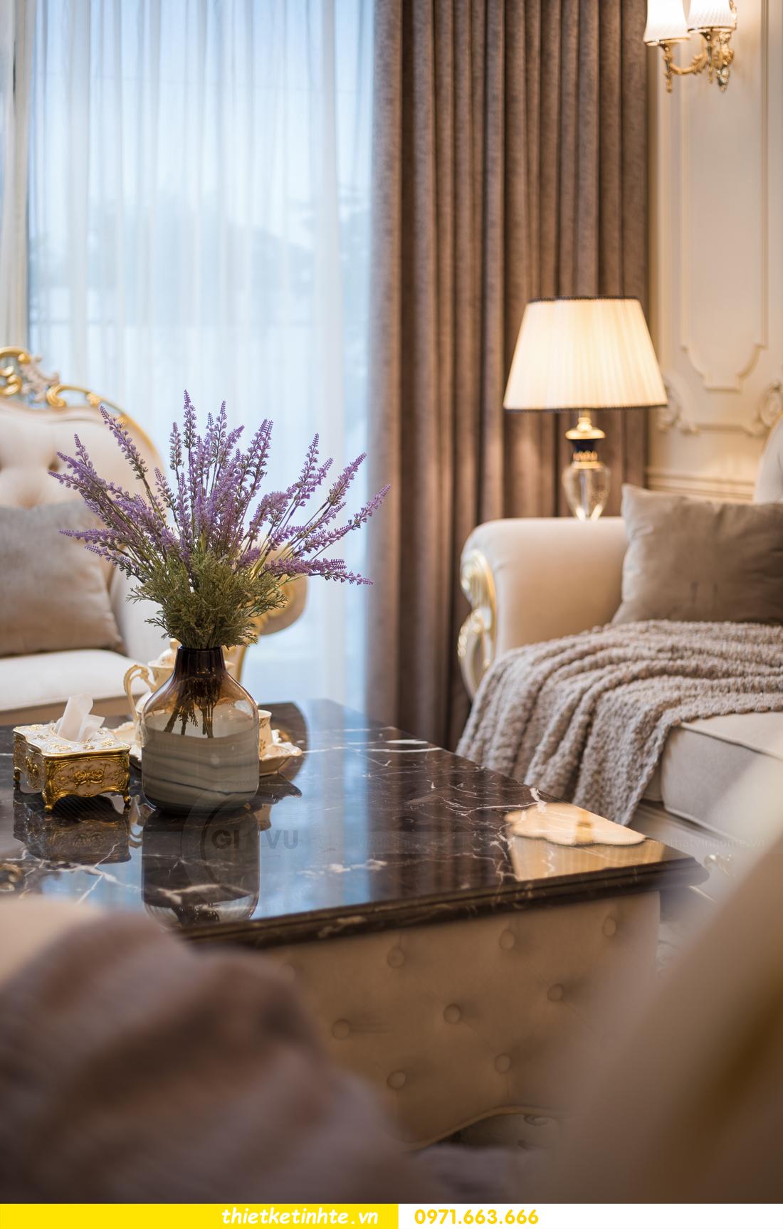 thi công hoàn thiện nội thất chung cư cao cấp Vinhomes Green Bay 07