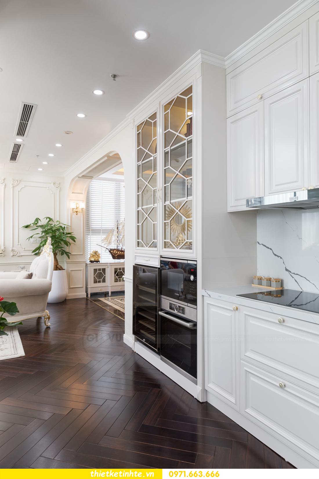 thi công hoàn thiện nội thất chung cư cao cấp Vinhomes Green Bay 09
