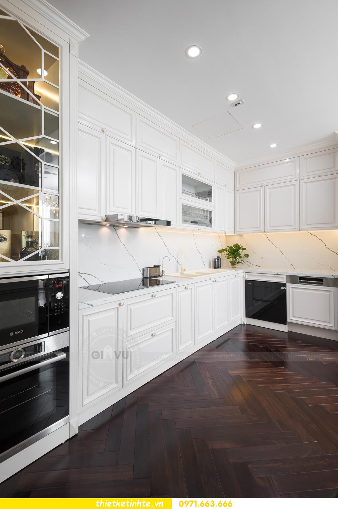 thi công hoàn thiện nội thất chung cư cao cấp Vinhomes Green Bay 11