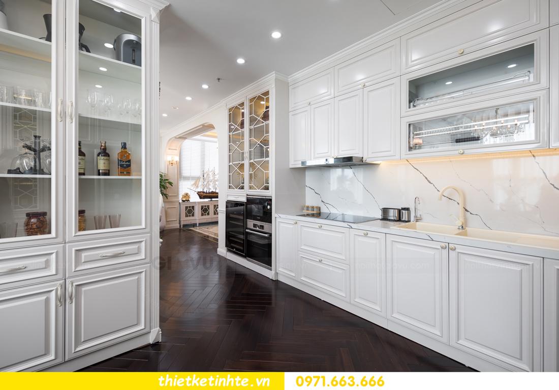 thi công hoàn thiện nội thất chung cư cao cấp Vinhomes Green Bay 12